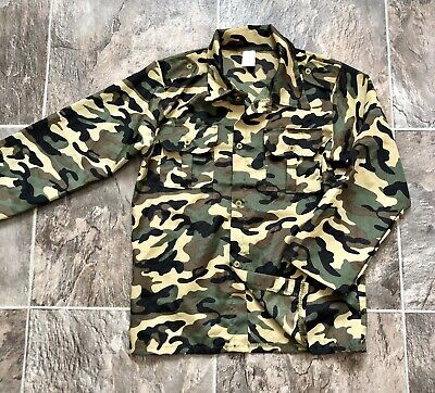 £5.50 • Buy BOYS FANCY DRESS ARMY CAMOFLAGE COSTUME GREEN AND BLACK ACTION MAN OUTFIT Size M