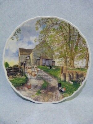 £8 • Buy A Royal Allbert Life On The Farm Plate The Flock  1992 8.25 Inches