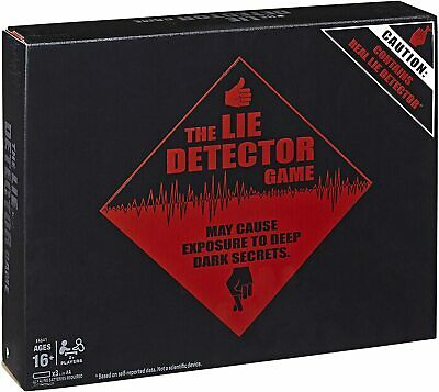 £12.34 • Buy The Lie Detector Game - Electronic Adult Party Game By Hasbro - New & Sealed