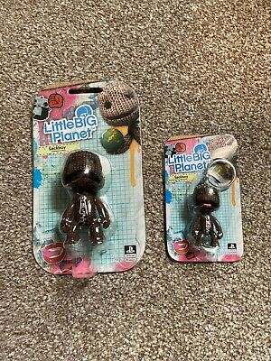 £7 • Buy Little Big Plannet Sackboy Figure And Keyring/chain Offical Sony 2009 New