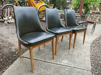 AU199 • Buy 3 X Mid Century Dining Chairs