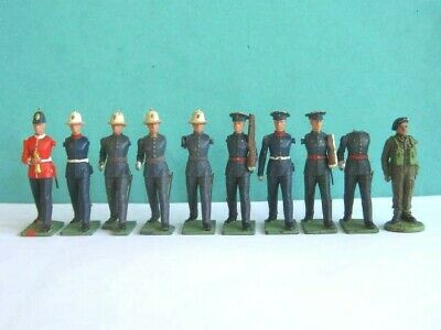£0.99 • Buy 10 X BRITAINS TOYS. 1960's HERALD EYES RIGHT PLASTIC 1/32 SOLDIERS To Clear.