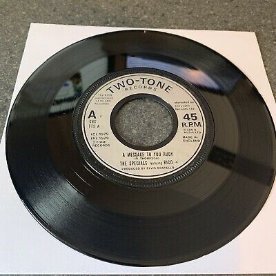 £5.50 • Buy The Specials. A Message To You Rudy. Original 1979.Two-Tone Records. CHS TT5