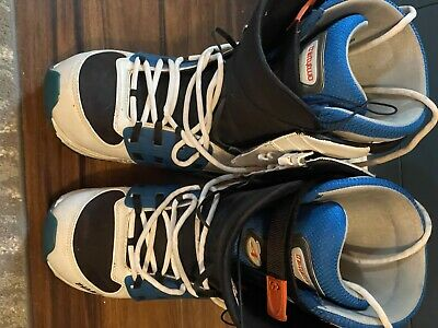 £10.20 • Buy ThirtyTwo 32 Prime Snowboard Boots 2008. Size UK 9.5. White And Blue. Used
