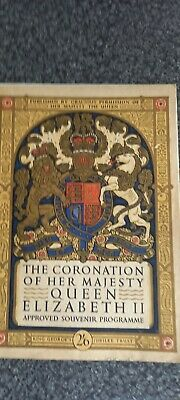 £3 • Buy The Coronation Of Her Majesty Queen Elizabeth Ii -approved Souvenir Programme.