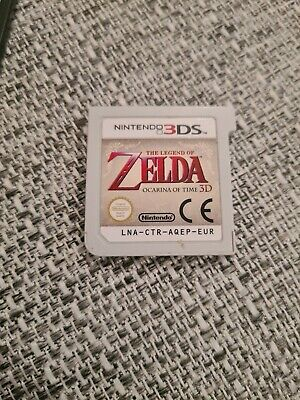AU27.82 • Buy The Legend Of Zelda: Ocarina Of Time 3D (3DS, 2011) - Cartridge Only