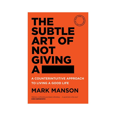 AU19 • Buy The Subtle Art Of Not Giving A F#ck Book By Mark Manson