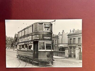 £2.50 • Buy Postcard Size Photo Woolwich Road Charlton Old Tram