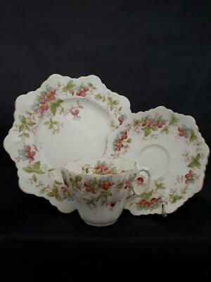 £12 • Buy Antique The Paragon China Tea Cup Saucer And Plate Daisy Shape C1900s