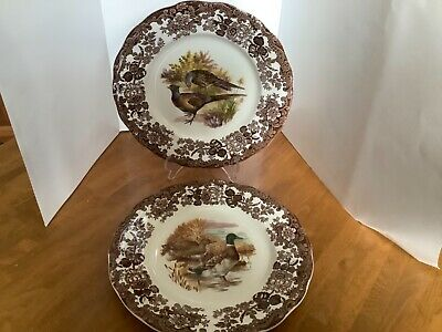 £8.99 • Buy Royal Worcester Palissy - Game Series - Dinner Plates X 2