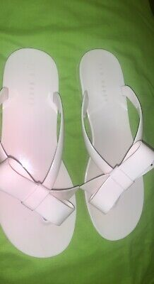 £10 • Buy Ted Baker Womens Flip Flops Sandals Shoes Size Uk 7 40 BABY PINK