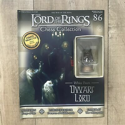 £19.95 • Buy Eaglemoss Lord Of The Rings Chess - Set 3 War Of The Ring - #86 Dwarf Lord