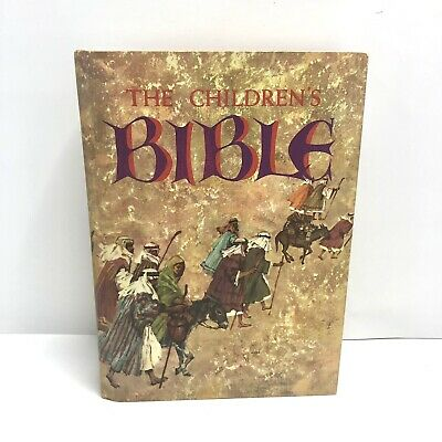 £7.24 • Buy Vtg 1965 Golden Press The Childrens Bible NO WRITING Fully Illustrated Hardcover