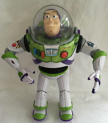 £8.99 • Buy DISNEY STORE TOY STORY 12  BUZZ LIGHTYEAR, POP-OUT WINGS LIGHTS UP- No Sound
