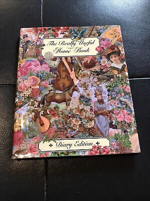 £2 • Buy The Really Useful Home Book Dairy Edition Any Year Diary Lovely Illustrations