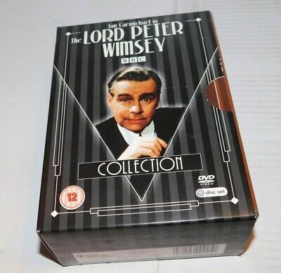 £10 • Buy The Lord Peter Wimsey Collection Dvd Boxset BBC Ian Carmichael