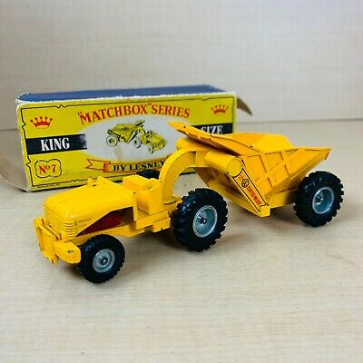 £4.20 • Buy Vintage Matchbox Lesney King Size No. 7 Curtiss Wright Rear Dumper Tractor Model