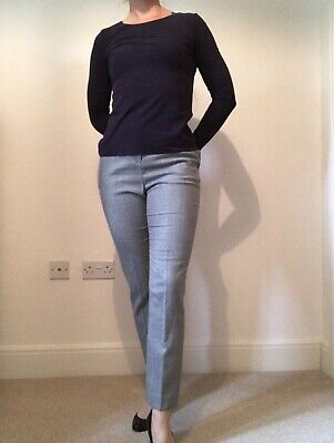 £5 • Buy Wolford Purple Stretch Long Sleeved Top Size 10 Medium