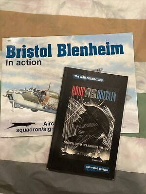 £7.97 • Buy Bristol Blenheim In Action #88 AND Roof Over Britain