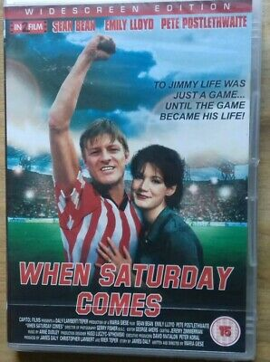 £4.10 • Buy When Saturday Comes Dvd Movie New And Sealed 1995 Sean Bean Pete Postlethwaite