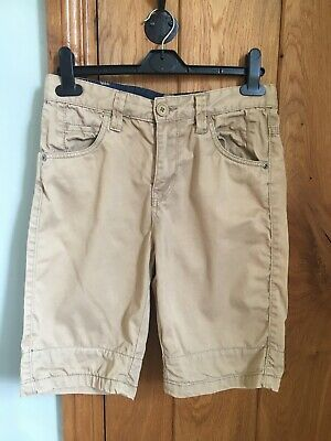 £3 • Buy VERY Boy's Sand Coloured Tapered Chino Shorts - Aged 13 Years Adjustable Waist
