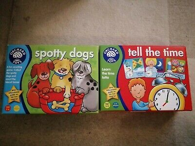 £5.90 • Buy Orchard Toys Spotty Dogs And Tell The Time Games