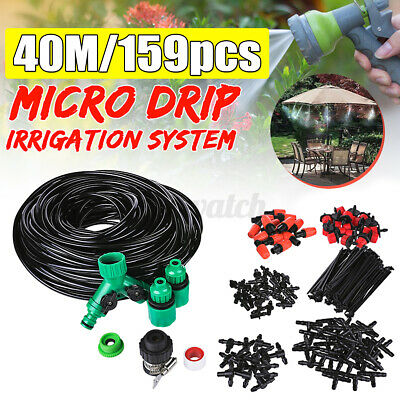 £14.08 • Buy 40m Automatic Micro Drip Irrigation Watering Kit Self Watering Greenhouse Plant