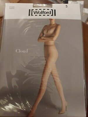 £3.20 • Buy Wolford Cloud Tights, Small, Gobi/white