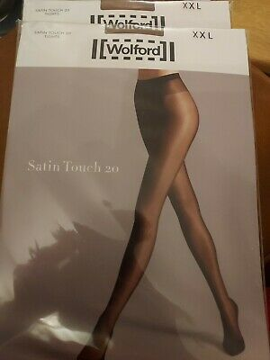 £6.60 • Buy Wolford Satin Touch 20 Tights Para, XXL