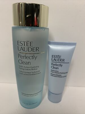 £23.50 • Buy Estee Lauder Perfectly Clean Multi-Action Toning Lotion/Refiner & Cleanser