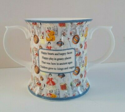 £0.99 • Buy Past Times Mug Courtesy Of The Beryl Peters Archives Happy Hearts Happy Faces