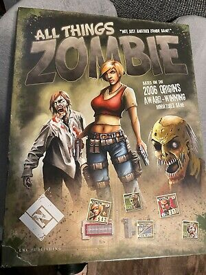 £13.03 • Buy All Things Zombie: The Boardgame