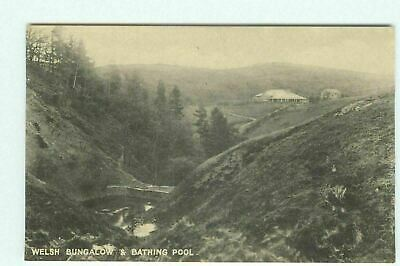 £2.99 • Buy Mostyn House School Parkgate Bathing Pool Bungalow RP Postcard Unposted 1919 AD