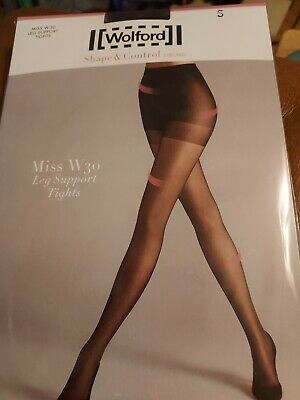 £1.20 • Buy Wolford Miss W30 Leg Support Tights, Small, Black