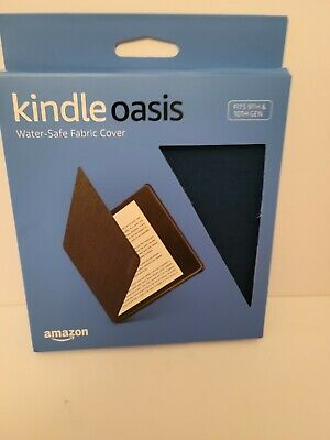 AU14.65 • Buy Amazon - Kindle Oasis Water Safe Fabric Cover - Blue  9th/10th Gen.