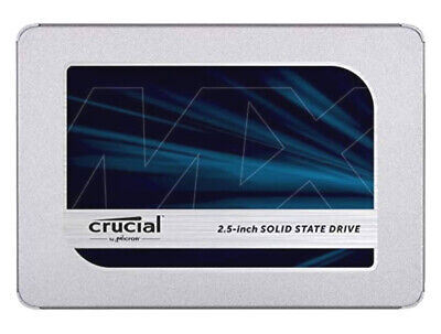£43 • Buy Crucial Mx500 Ssd - 500gb Ssd - 2.5  Solid State Hard Drive - Ct500mx500ssd1