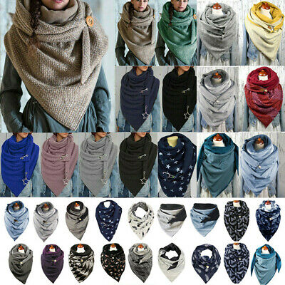 £10.79 • Buy Women Thermal Scarf Wrap Shawls Ladies Girl Outdoor Winter Warm Scarves Casual