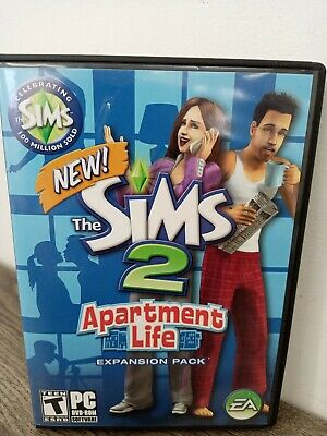 £8.91 • Buy Sims 2: Apartment Life - Expansion Pack (PC, 2008) Complete W/ Manual & Key Code