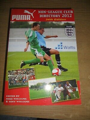 £5 • Buy Non-League Club Directory: 2012 By Tony Williams Publications (Paperback, 2011)