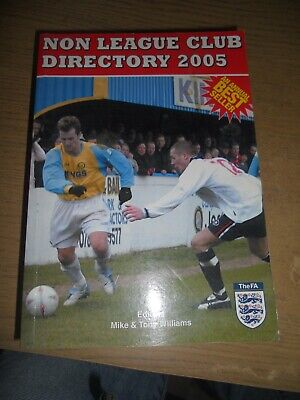 £5 • Buy The Non-league Club Directory 2005 Paperback