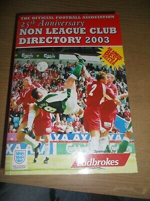 £5 • Buy The Non-league Club Directory 2003, Very Good Condition Book, , ISBN 97809539111