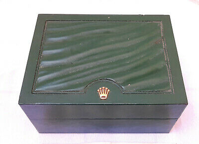£57.90 • Buy Vintage EMPTY Rolex Swiss Green Box Case Only 30.00.08 For Watch Display