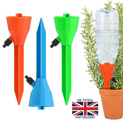 £4.95 • Buy Self Irrigation Watering Drip Devices W/ Valve Control For Indoor Outdoor Plants