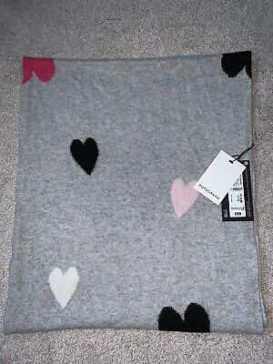 £45 • Buy BNWT M&S - Autograph Pure Cashmere Heart Print Scarf (Full Price £69)