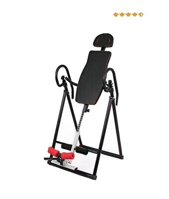 £45 • Buy New Inversion Table Exercise Fitness Back Therapy Gravity Bench Gym Home