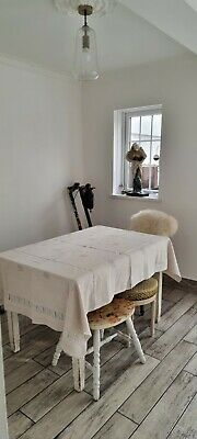 £30 • Buy Increadible French Linen Tablecloth With Needlework