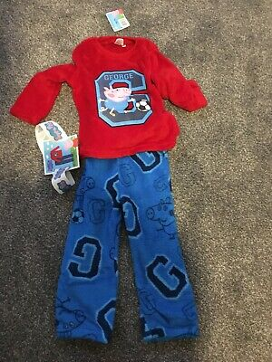 £8.99 • Buy Boys George  From Peppa Pig Pyjamas Aged 3-4 Years .Brand New With Tags.