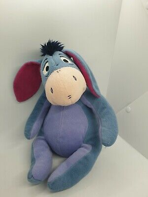£8.99 • Buy Disney Eeyore 10  Plush Soft Toy Winnie The Pooh Detachable Tail Pre-owned