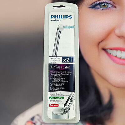 AU26.69 • Buy Philips Sonicare HX8032 AirFloss ULTRA High Performance Floss Nozzles 2 Spouts