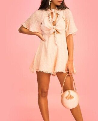 AU80 • Buy Alice McCall Moon Talking Playsuit Size 6